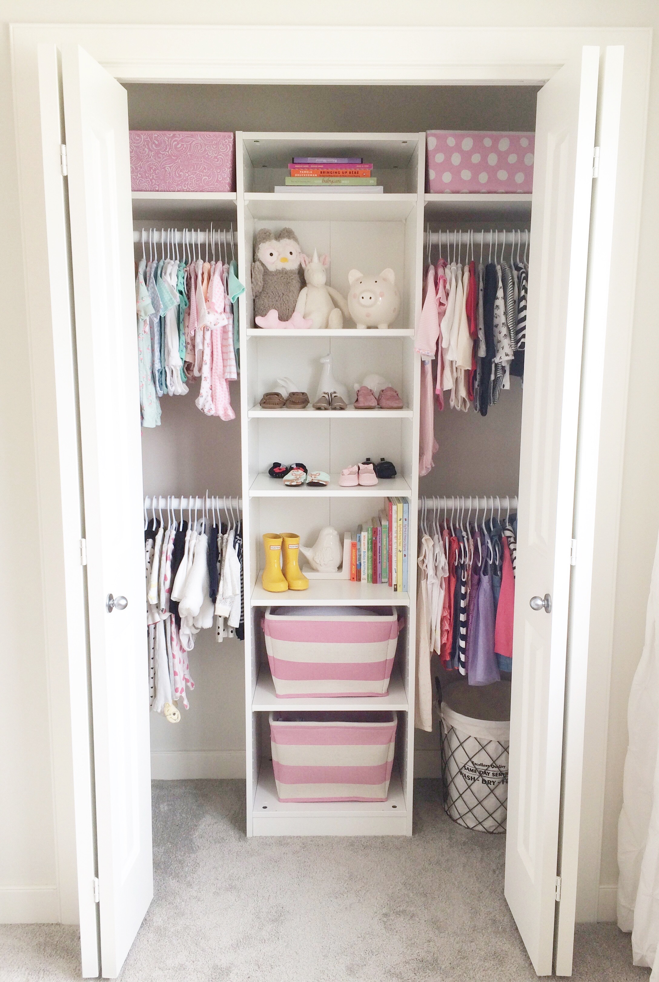 Ikea closet hack for Wardrobe organizer ikea
